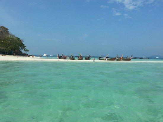 Tup Island : Chegando à ilha