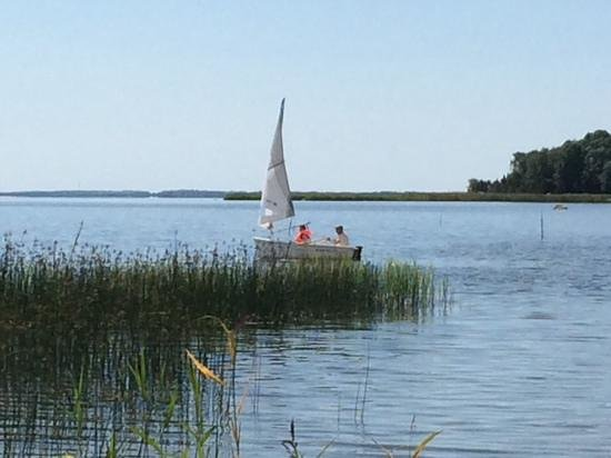 Padaste Manor: sailing in padaste bay