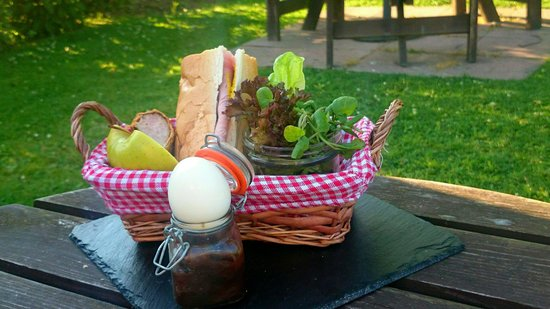 Lesbury, UK: Hunters picnic