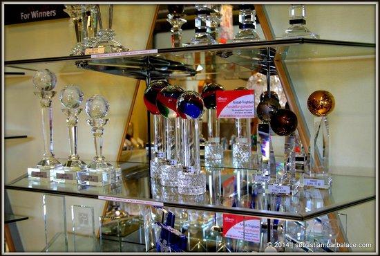 JOSKA Bodenmais: Glass Trophies