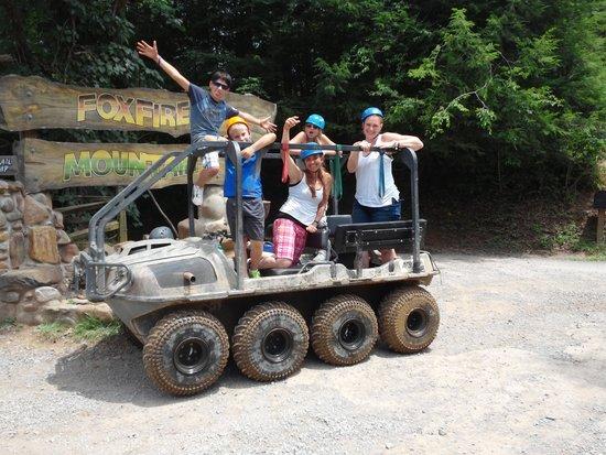 Foxfire Mountain Adventures: Soooo much fun!