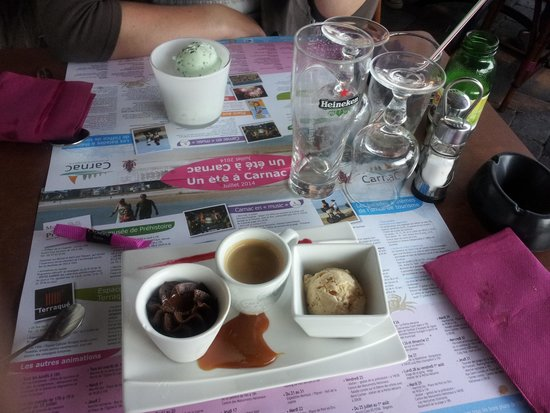 L'Annexe : cafe gourmand