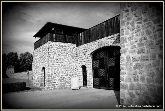 Mauthausen Memorial - KZ-Gedenkstätte: Main Entrance