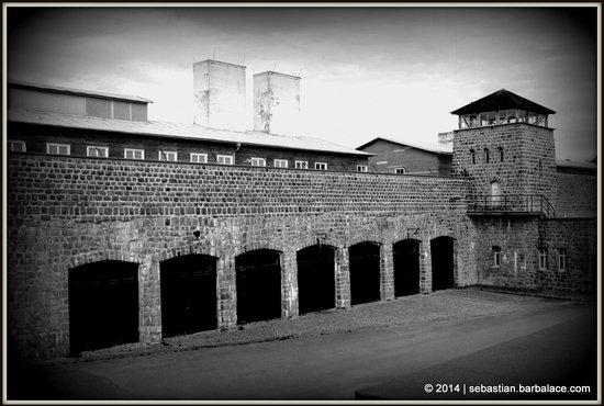 Mauthausen Memorial - KZ-Gedenkstätte: Side View
