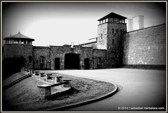 Mauthausen Memorial - KZ-Gedenkstätte: Entrance