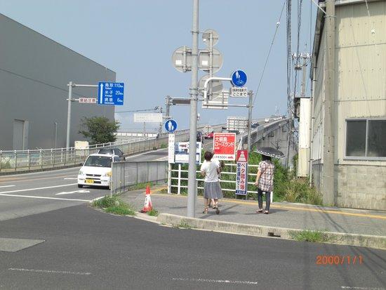 Eshima Ohashi Bridge: 迫力ないな