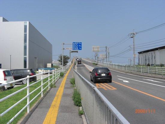 Eshima Ohashi Bridge: カメラが悪い?