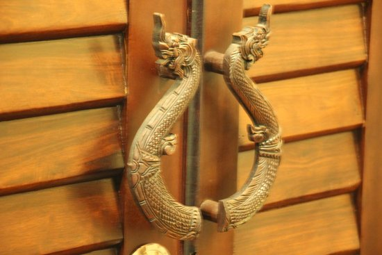 Villa Nagara: Room door handles