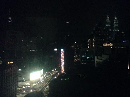 Hotel Royal Kuala Lumpur: night view