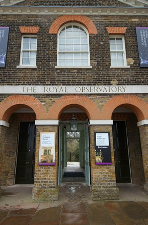 Royal Observatory Greenwich: Royal Observatory Entrance