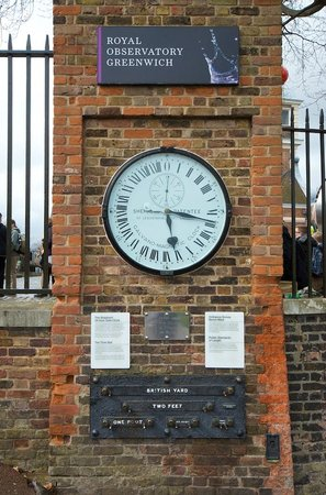 Royal Observatory Greenwich: 24 hour astronomical clock