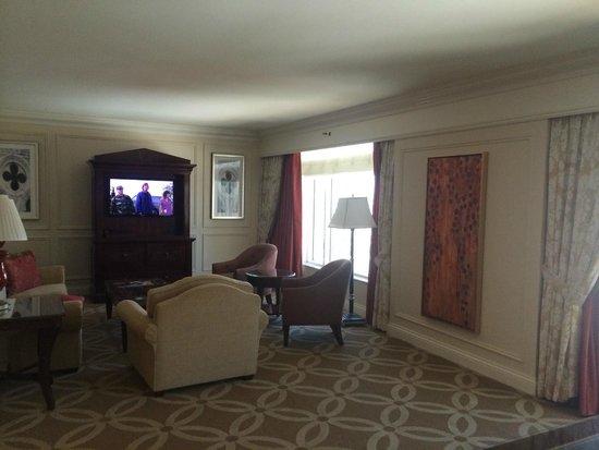 The Venetian Las Vegas: Living room
