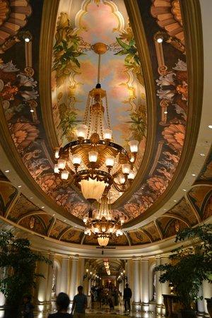 The Venetian Las Vegas: Ceiling art