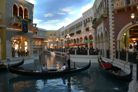 The Venetian Las Vegas: how this for shopping !