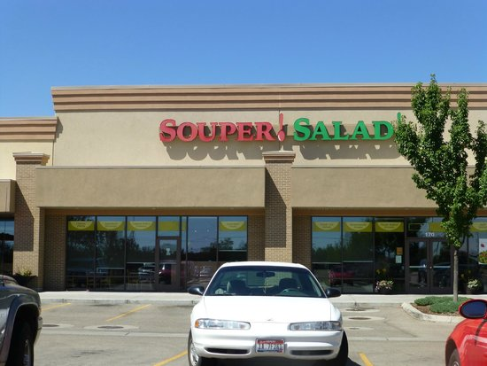 Souper Salad, after lunch and before the dinner rush, Meridian,ID
