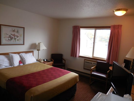 Econo Lodge: New Carpets, New Bedding One Queen Bed