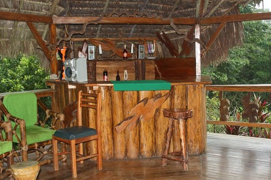 Suchipakari Amazon Rainforest Ecolodge: bar