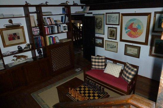 Casa Medievale del Mugnaio B&B: vue depuis la mezzanine de la chambre