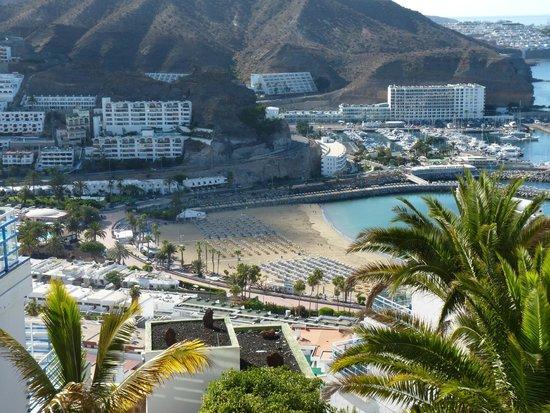 Servatur Puerto Azul : Vue depuis l'hôtel