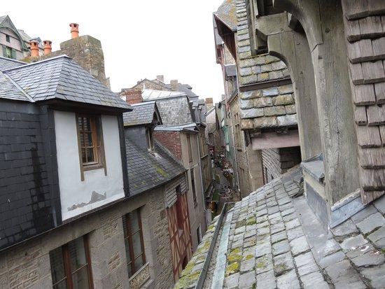 Auberge Saint-Pierre: 客室からの景色