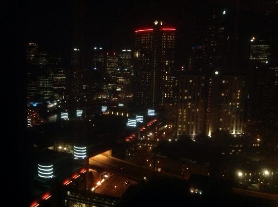 Crown Metropol Melbourne: lights everywhere