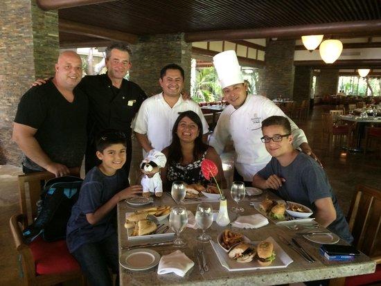 Grand Velas Riviera Maya: Au restaurant Chaka