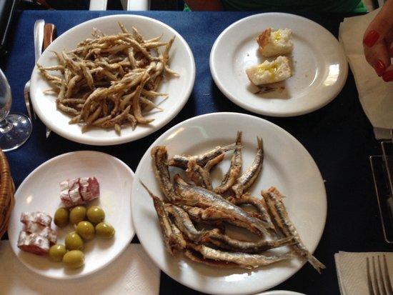 La Parrilla : Fish & starter