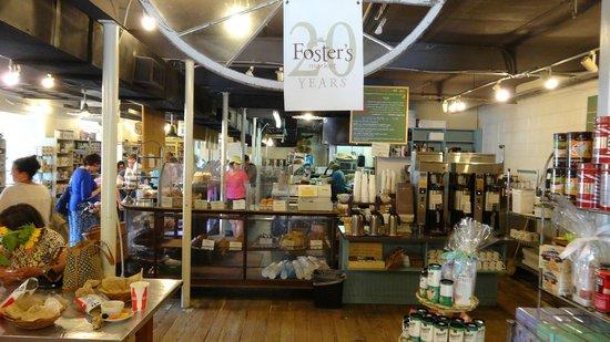 Foster's Market: Indoor view