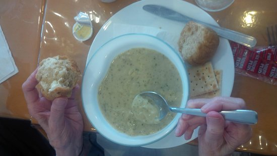 Claudine's Eatery : Soup of the day