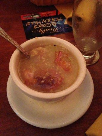 Las Vegas Cuban Cuisine : Cuban soup!