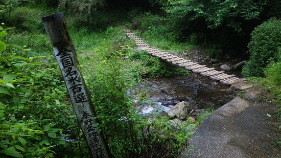 Dainichi-do Shrine : 名水百選の指標