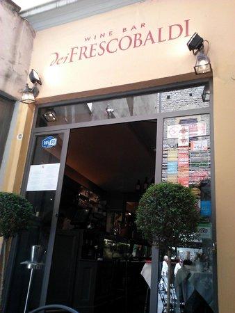 Ristorante & Wine Bar dei Frescobaldi : Entry to wine bar section