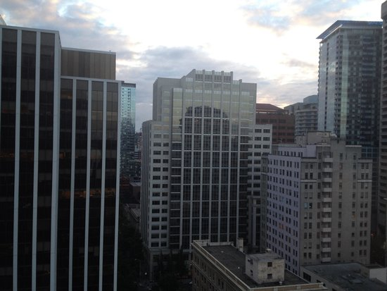 The Westin Seattle: View from 24th floor