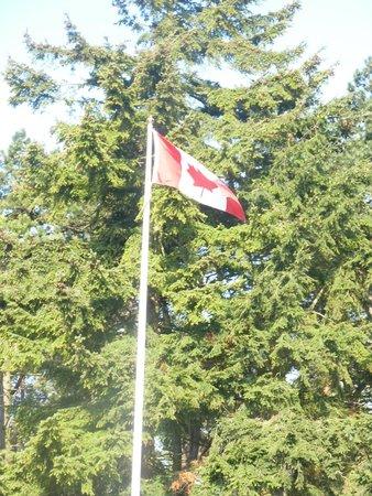 Mémorial de Vimy : Our Canadian flag