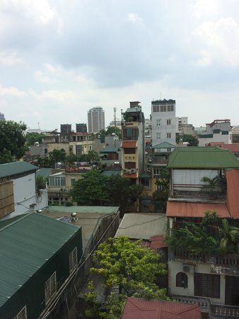 Hanoi Pearl Hotel : The view from room 708