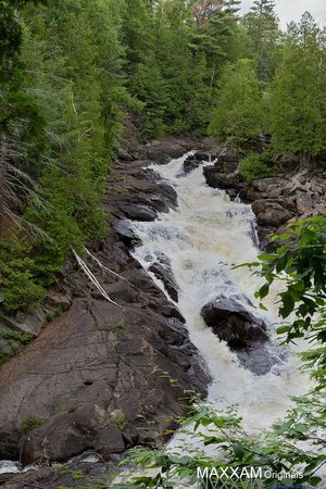 Dwight, Canada: Ragged Falls, July 24, 2014