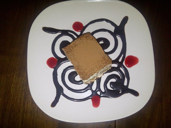Sergio's Caffe: Tiramisu was delicious