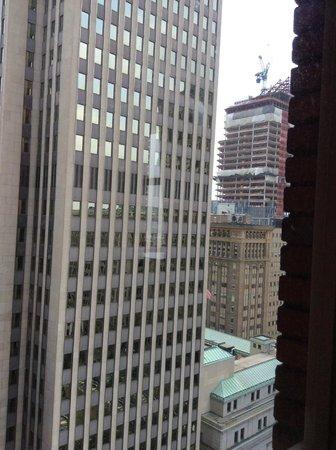 Omni William Penn Hotel: Side window view