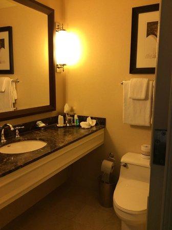 Omni William Penn Hotel: Bathroom area