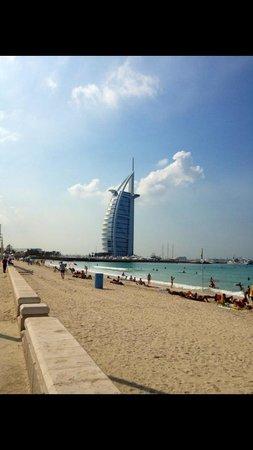 Playa y Parque Jumeira: Jumeira beach (côté plage gratuite)