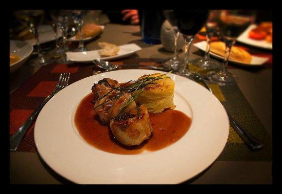 Novotel Barcelona City: jantar