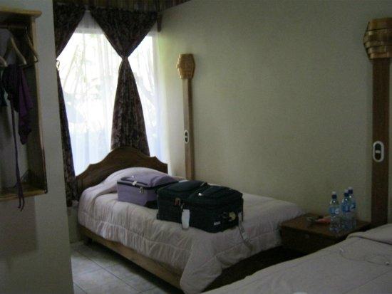 Monteverde Rustic Lodge: twin bed