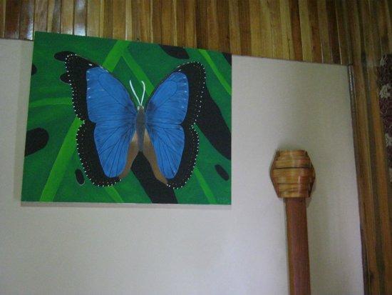 Monteverde Rustic Lodge: in room artwork