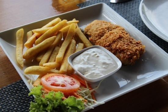 Sabai Corner: fish n chips on request