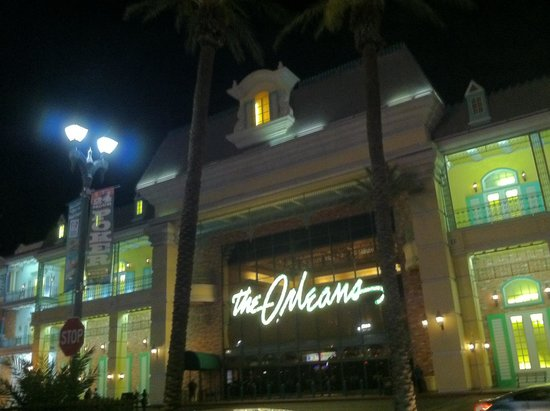 The Orleans Hotel & Casino: Entrance