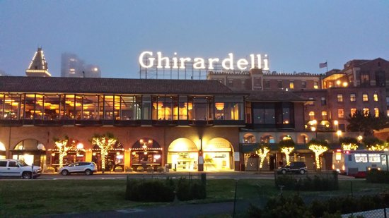 The Original Ghirardelli Chocolate Manufactory: View of Ghirardelli Square