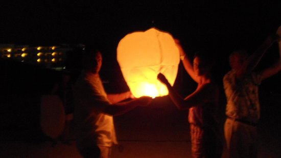 Iberostar Grand Hotel Rose Hall : Our Chinese Lanterns