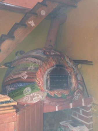 Restaurante Pizzeria Tuco: The wood oven