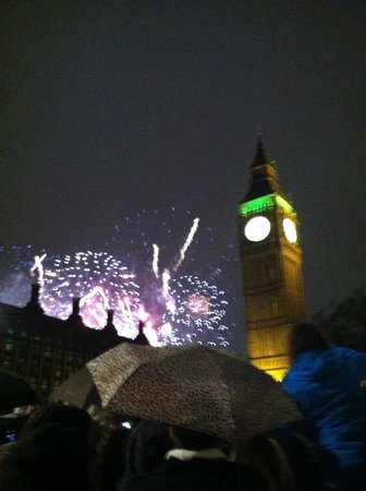 Big Ben: New Year's Eve