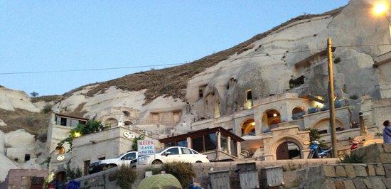 Vezir Cave Suites : Hotel view